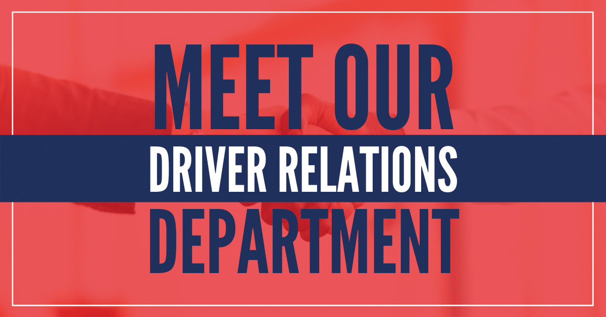 Carter Express Driver Relations